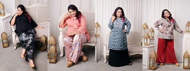 PAMERKAN GAYA MENAWAN DI HARI RAYA :Jazz & Co melancarkan koleksi raya bersama Dina Nadzir