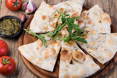 INTERNATIONAL:  Bread of the Week 54:  Focaccia and Ciabetta:  Photos, History, Recipes and VIDEOS