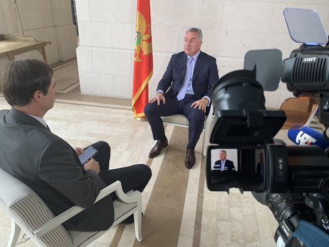 Đukanović: SPC instrument u rukama velikosrpskog nacionalizma