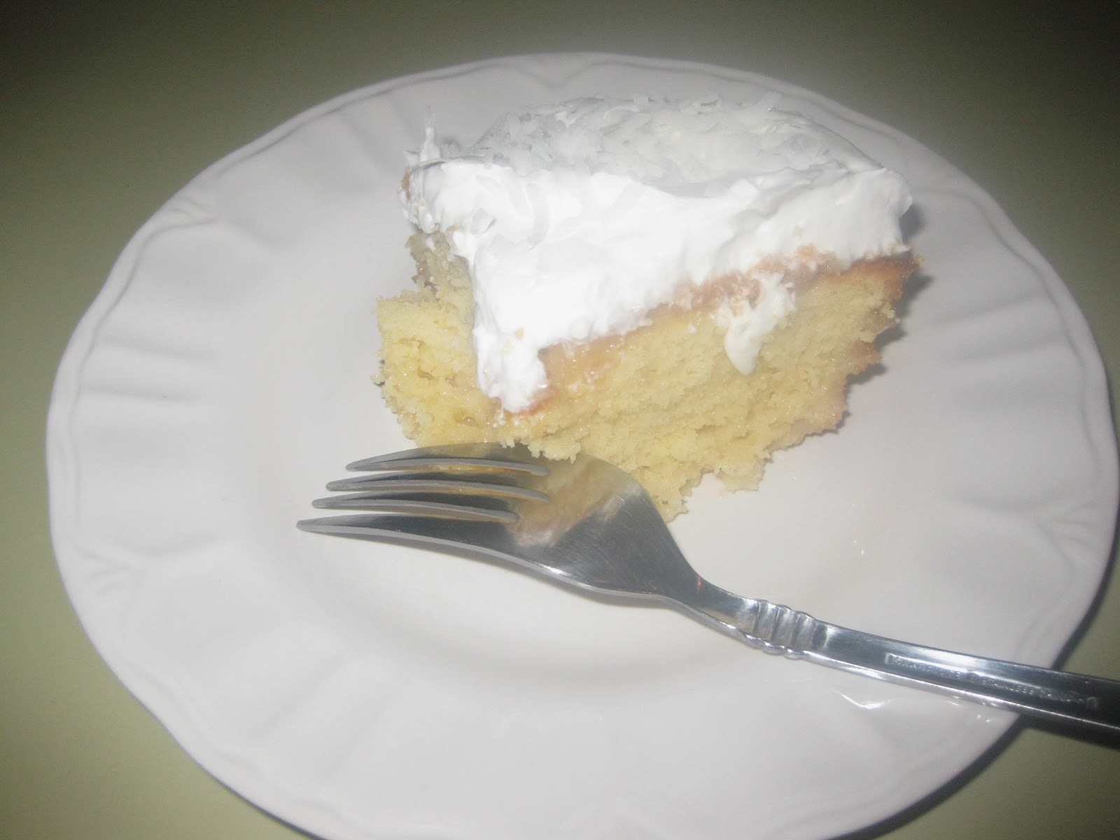 Tres Leche Cake With Yellow Cake Mix