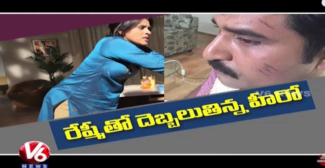 Jabardasth Anchor Rashmi Gautam Attacks Rajeev Kanakala  Tollywood Gossips