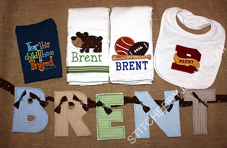 Stitched By Janay Welcoming Baby Brent
