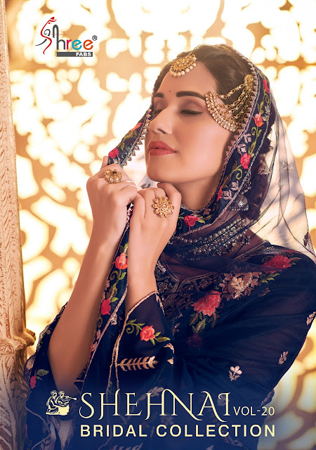 Shree fab Shehnai vol 20 Bridal Collection Pakistani Suits