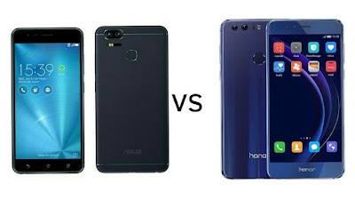 Asus Zenfone 3 Zoom vs Honor 8