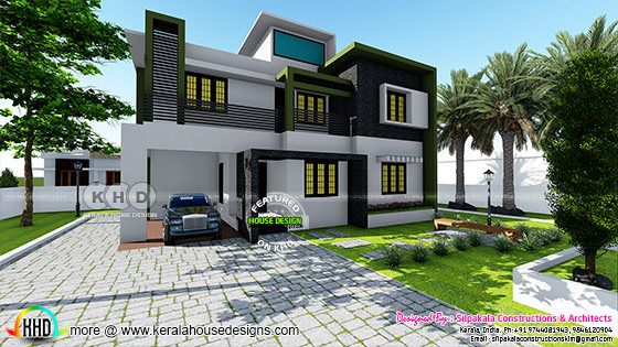 2592 square feet 4 bedroom modern contemporary home