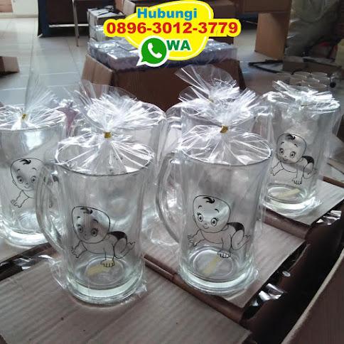 souvenir tatakan gelas kaca 53894