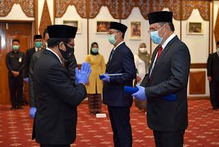 Pjs. Gubernur Jambi Kukuhkan Pjs. Bupati Bungo dan Tanjab Timur