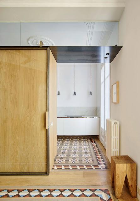 Модернистская квартира в Барселоне от Built Architecture