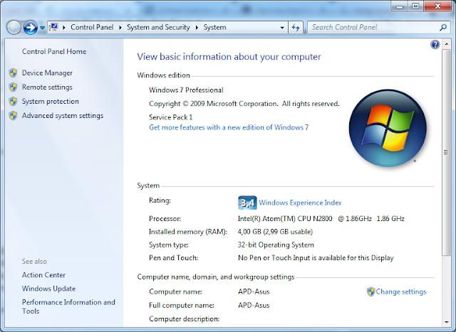 Wahyu Wijanarko EN: Upgrade Asus Eee PC Series 1025C with