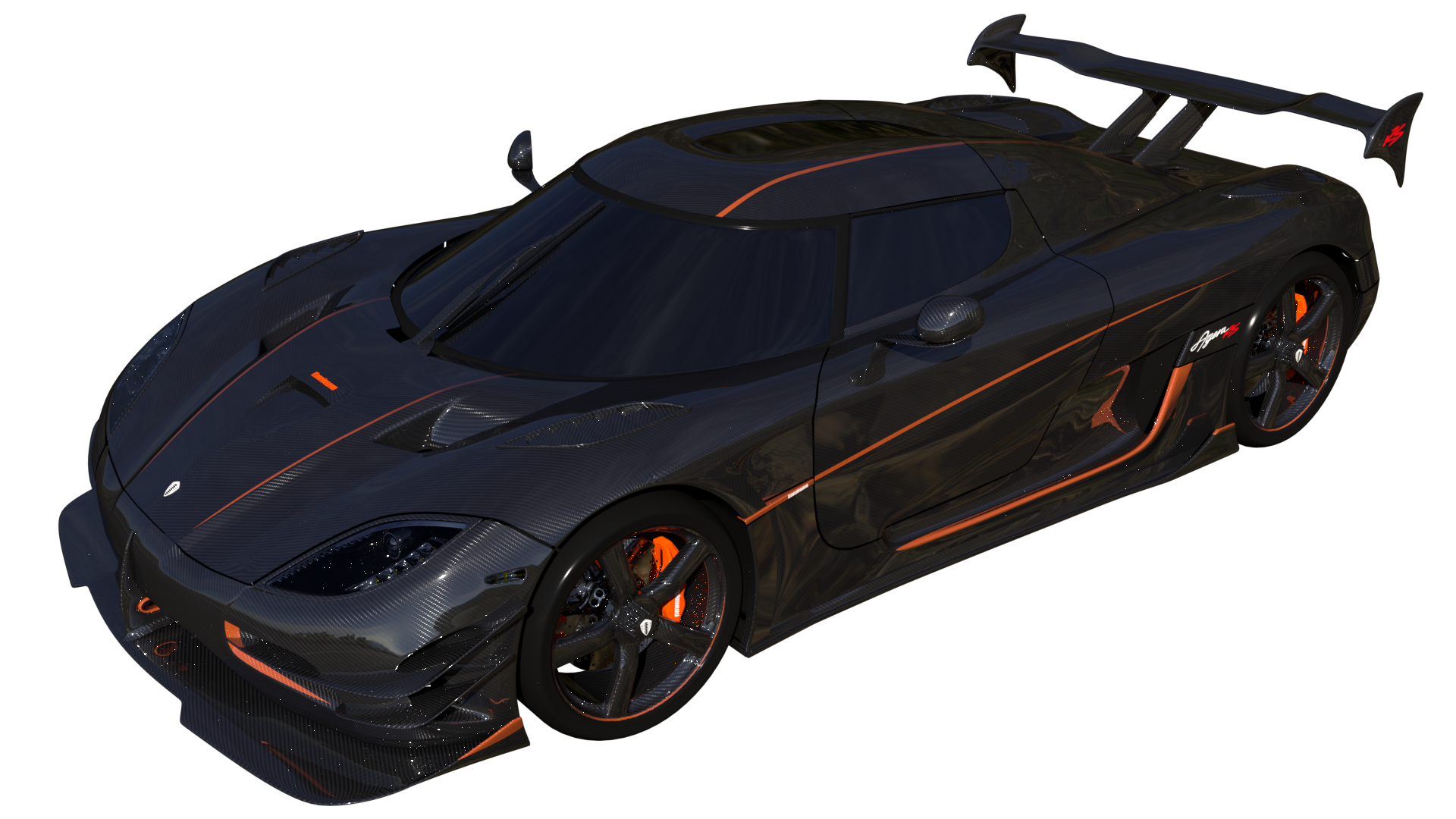 Free 3D Koenigsegg Agera RS CC0 3DS - Free 3D Models Under Public Domain