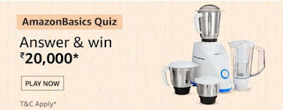 Amazon Basics Quiz Answers – Win Rs.20,000