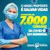 Serrinha ultrapassa os 7 mil curados de Covid-19
