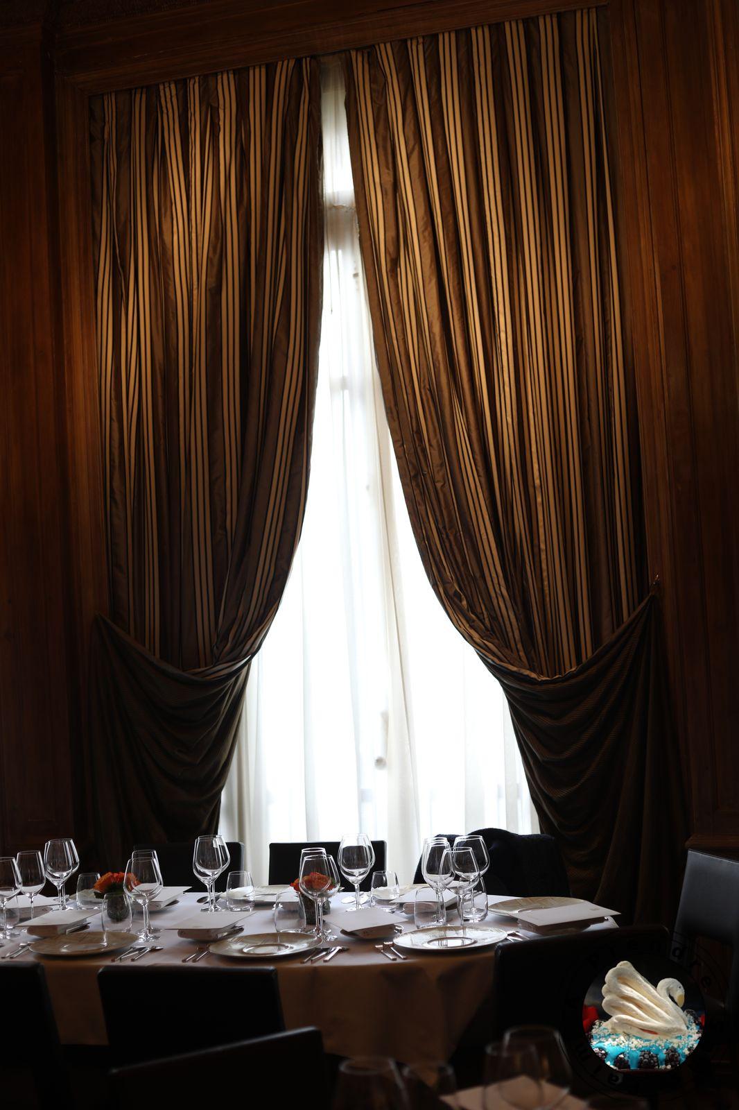 Restaurant le Taillevent avec Caprice des Dieux