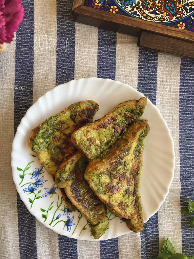 Savoury French Toast | Spicy Bombay Toast