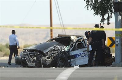 bakersfield officer david nelson killed in car crash suspect julian hernandez arrested panorama drive