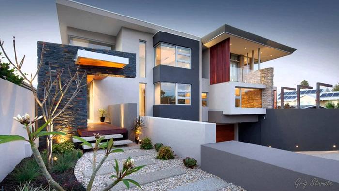 97+ Gambar Desain Rumah Modern Kontemporer 2 Lantai Paling Keren Download