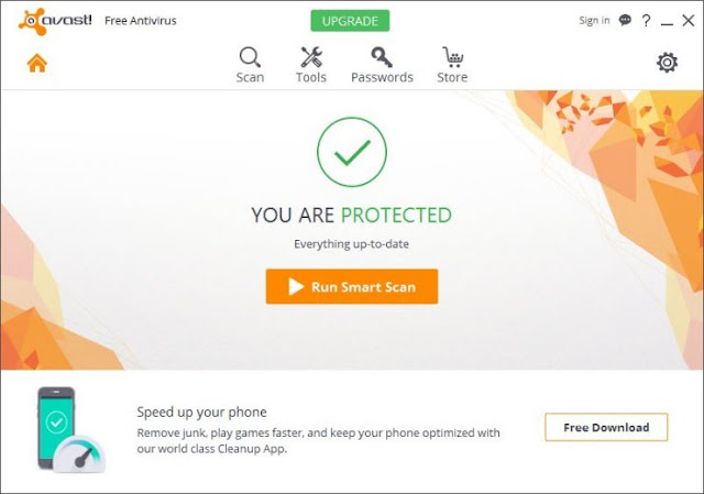 Best free android antivirus app for 2017 avast