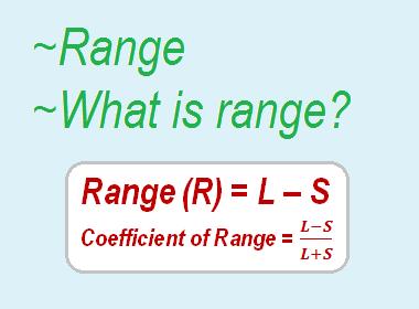 Range | What is range?