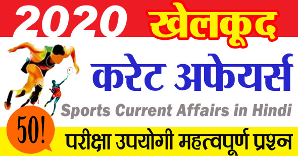 Sports Current Affairs in Hindi