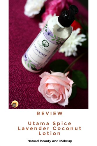 Utama Spice Lavender Coconut Lotion Review