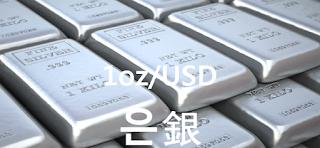 오늘 은 1 온스(oz) 시세 : 99.99 은(銀 Silver) 1 oz (troy ounce : oz t 트로이 온스) 시세 실시간 그래프 (1oz/USD 달러)
