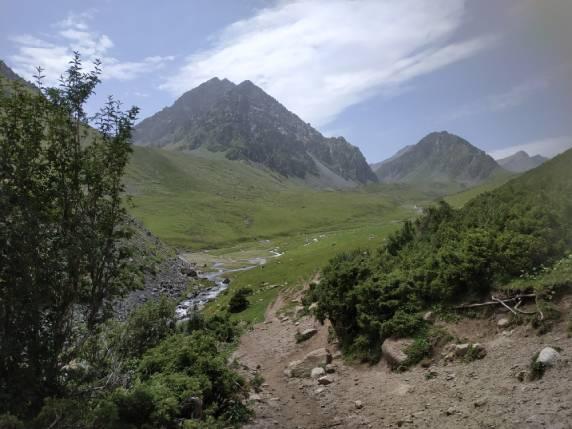 Тянь-Шань, похід