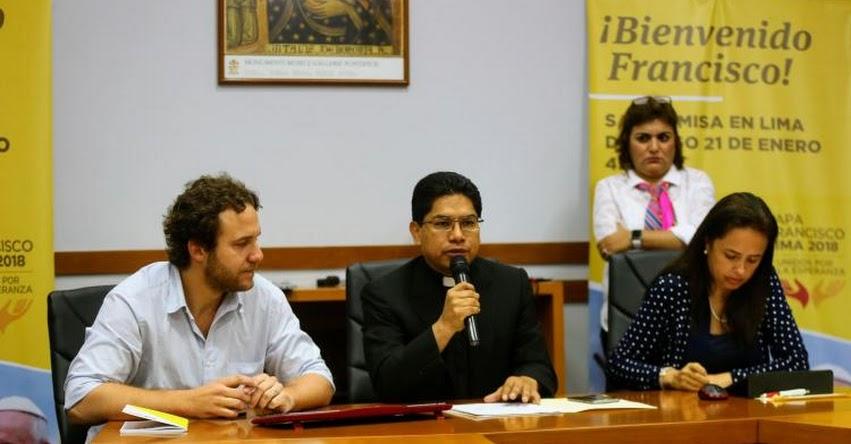 PAPA FRANCISCO EN PERÚ: Desde el 8 de enero entregan tickets de ingreso para misa en Las Palmas - www.elpapaenperu.com