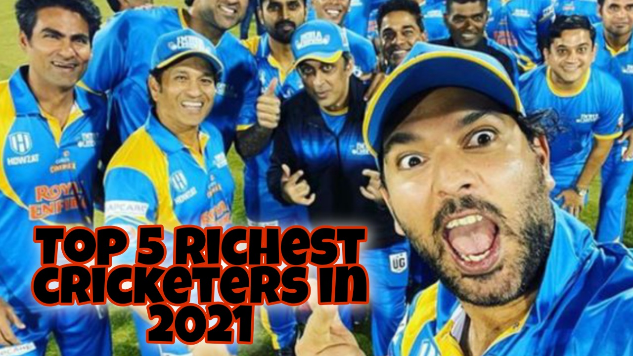 Top 5 Richest cricketers in 2021- Brightanvil
