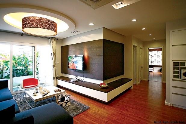 Nội thất bàn giao chung cư Dream Home Định Công