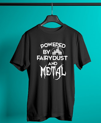 Powered By Fairydust And Metal Shirt Hoodie Sweatshirt T Shirts
