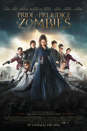 Pride and Prejudice and Zombies (2016) Full Hindi Dual Audio Movie Download 480p 720p Bluray