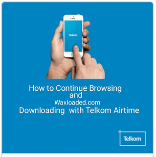 How to browse and Download with Telkom Airtime balance