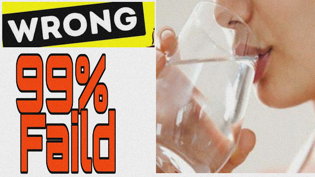 5 Reasons You Are Drinking Water the Wrong Way | how to drink water correctly