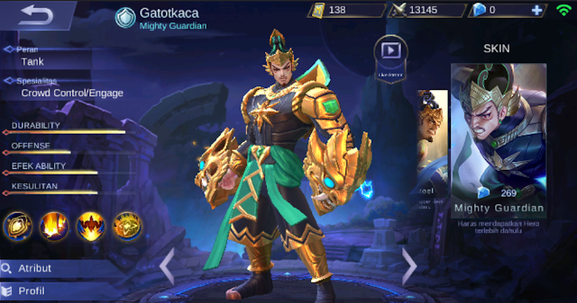 Perfectly Guide GatotKaca in Mobile Legends : The Muscle Wire Bone Iron