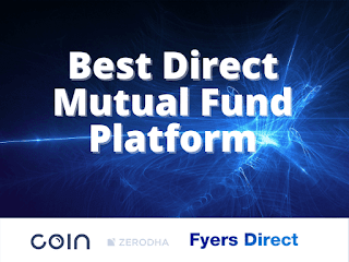 Best direct mutual fund platform