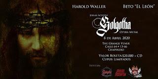 "Musical GOLGOTHA | ""Opera Metal"" en vivo"