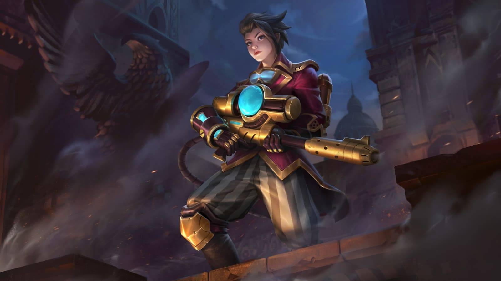 Wallpaper Kimmy Steam Researcher Skin Mobile Legends HD for PC