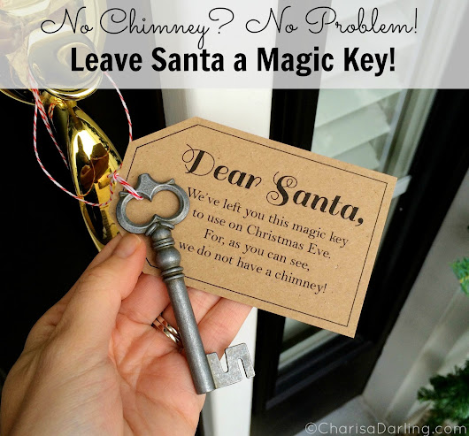 Santa's Magic Key Printable...Again