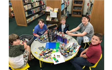 LEGO CLUB ~ Ages 7-12 ~ FIRST TUESDAY of Every Month ~ 3pm-5pm