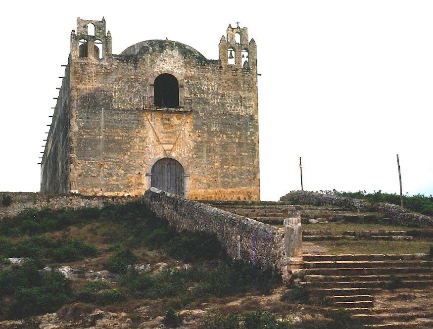 Colonialmexico Yucatan Then And Now Santa Elena Nohcacab