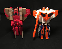 Blitzwing and Astrotrain Robot Modes