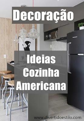 cozinha estilo americana