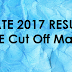 GATE 2017 Results ECE Branch Cut Off Marks for Boys / Girls category Wise