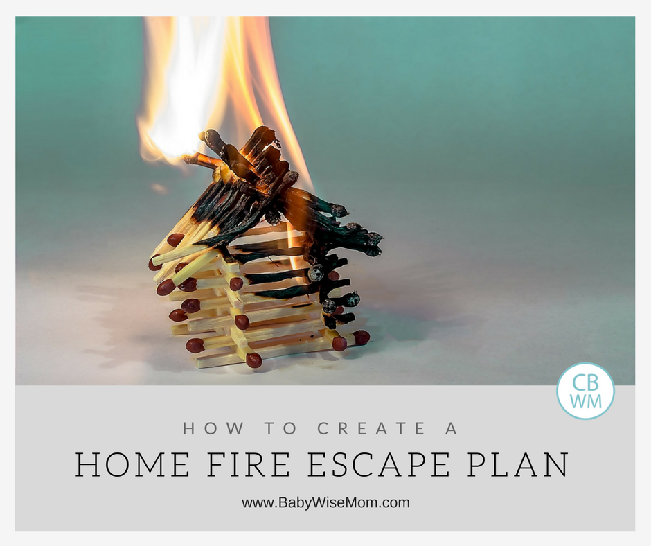 How To Create A Home Fire Escape Plan Chronicles Of A