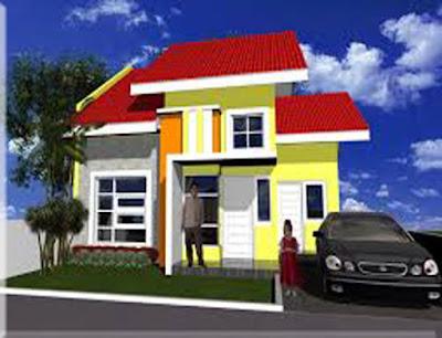 warna cat dinding dalam rumah yang cerah