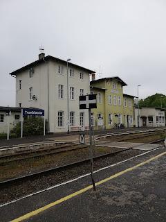 Dworzec kolejowy w Trzebiatowie