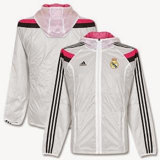 jaket bola madrid, jaket parasut madrid home, tempat jual baju bola madrid online, grade ori,