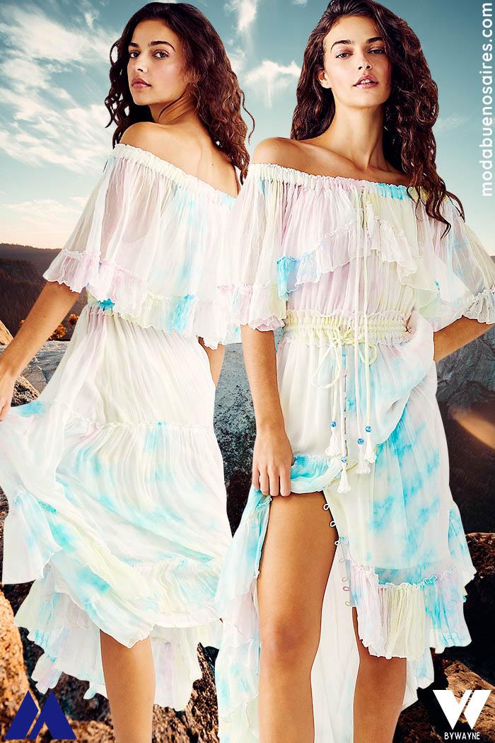 vestidos de moda para la playa 2022