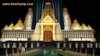 Biggest Hindu Temple In The World Under Construction - Chandrodaya Mandir