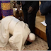 Pope kisses feet of rival South Sudan leaders